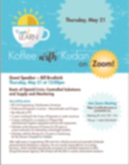 Koffee with Kudan 5-21-20 Bill Brudnick.