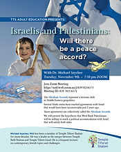 Israelis and Palestinians will there be a peace accord- 11-9-21.jpg