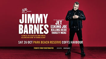 Jimmy Barnes By The C Park Peach Reserve