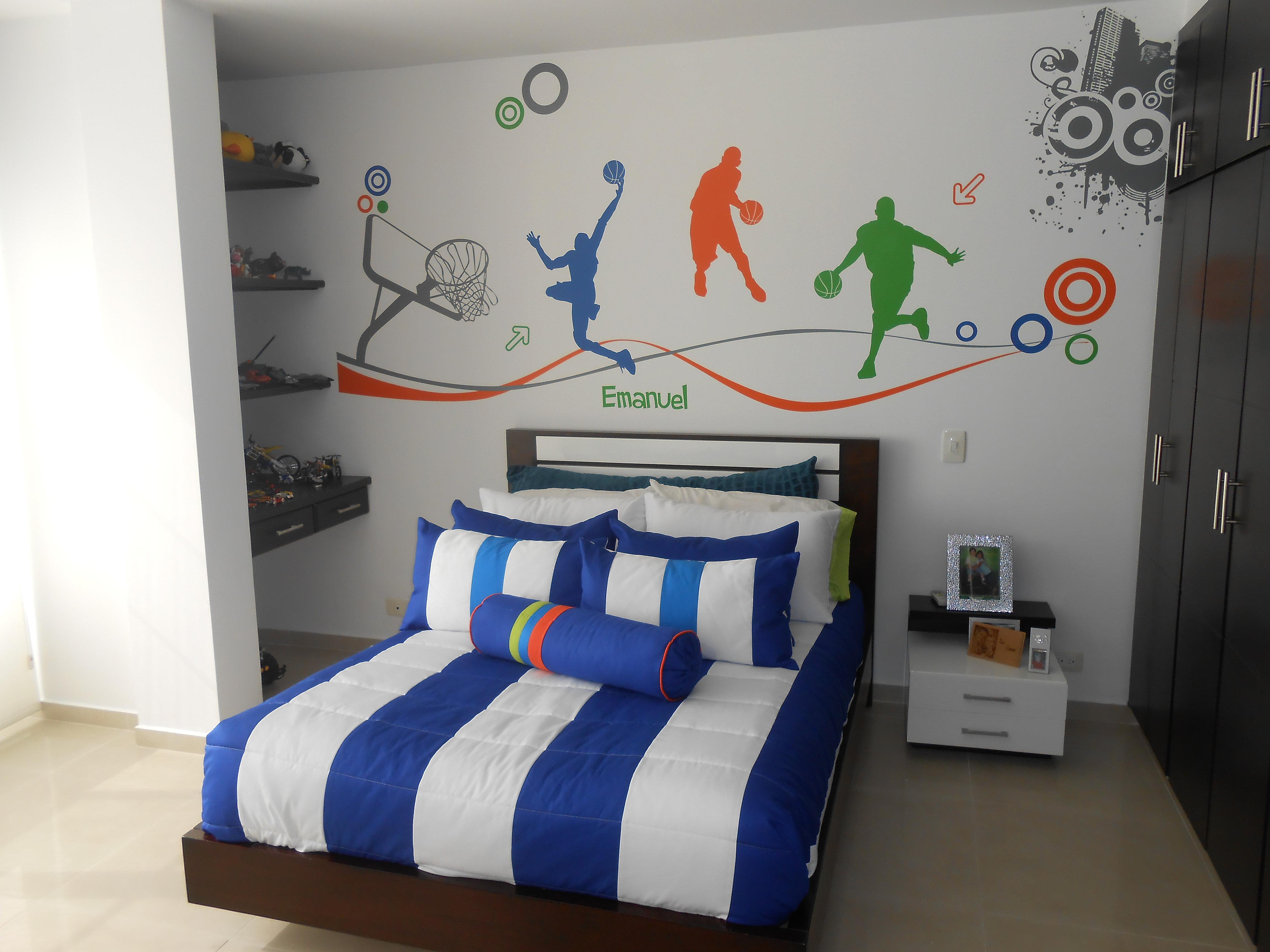 Kasanova espacios con estilo dise o y decoracion for Pegatinas habitacion nino