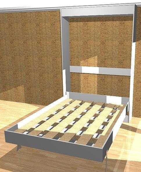 Cama retrateis cama retratil cama de parede cama for Camas de 1 20