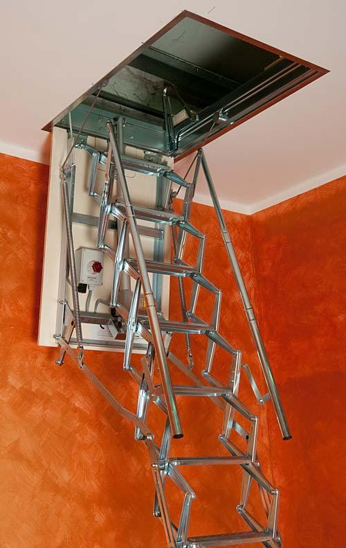 Scala retrattile coibentata: prezzi scale retrattili parete e soffitto