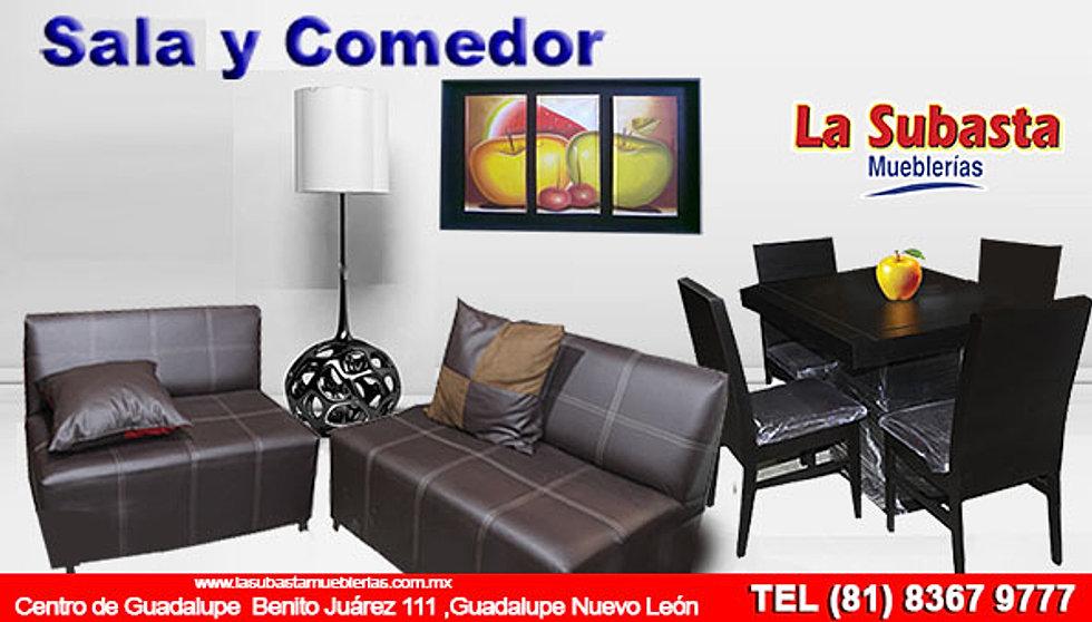 Lasubastamueblerias for Compra de comedores nuevos