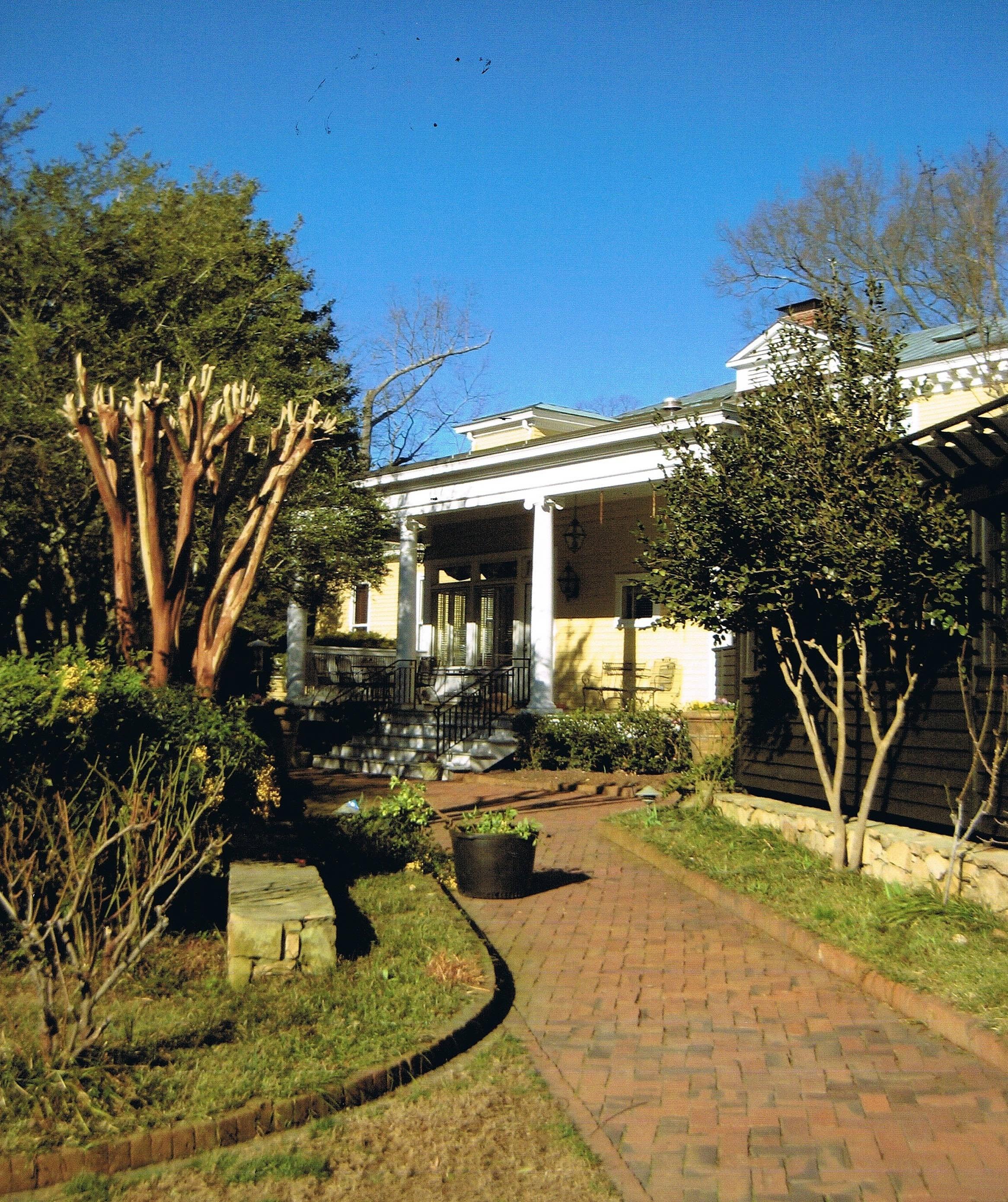Chapel Hill House House Plans