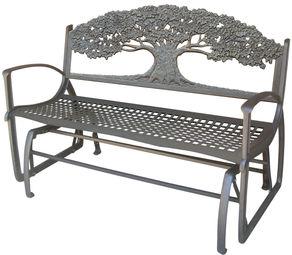 cast iron glider benches - Glider Bench