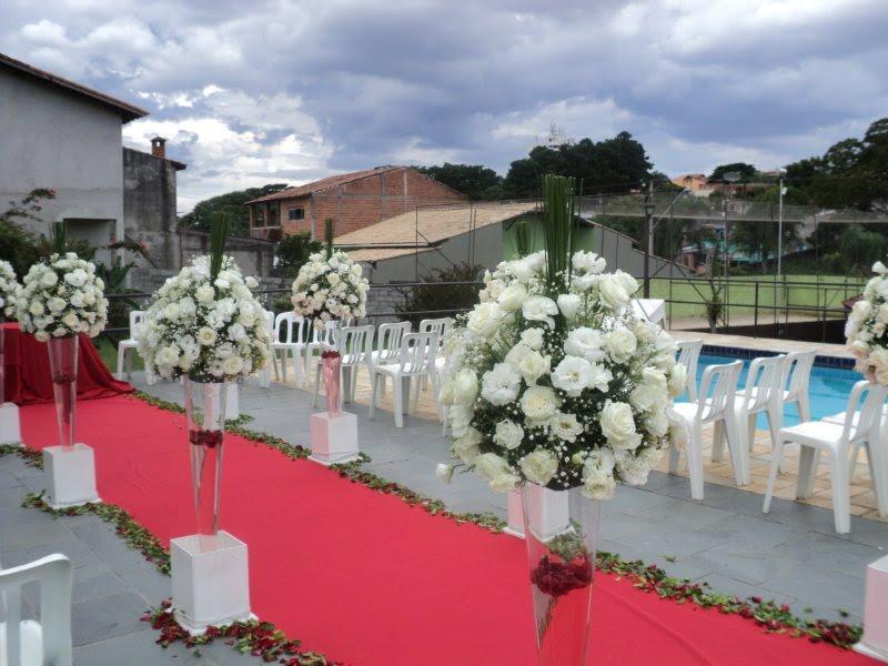 Decora o casamento na piscina for Piscina 6 x 3