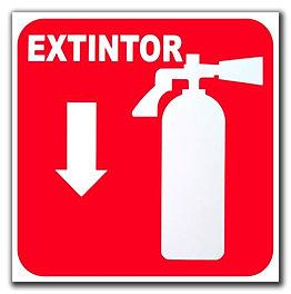 Rotulos pvc o acrilico de seguridad industrial y personalizados - Extintor para casa ...