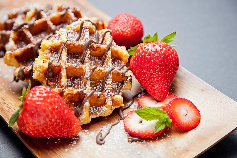 ... Waffles, Cafe, Bakery, Coffee, Food truck | Vancouver | Liege Waffle