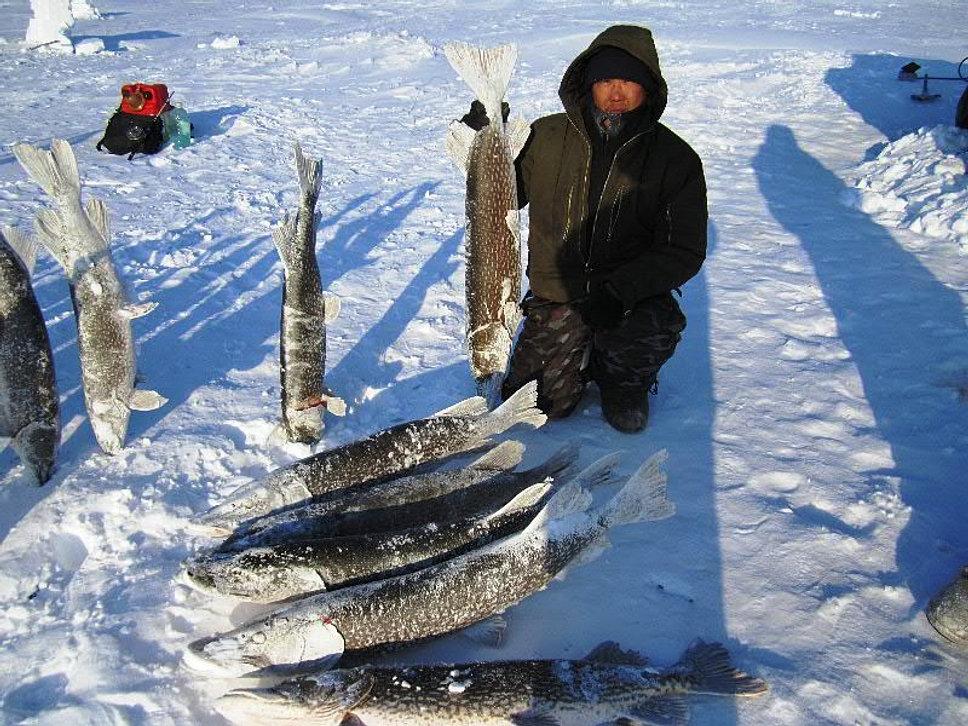 все про рыбалку на севере