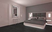 3d: habitación de hotel