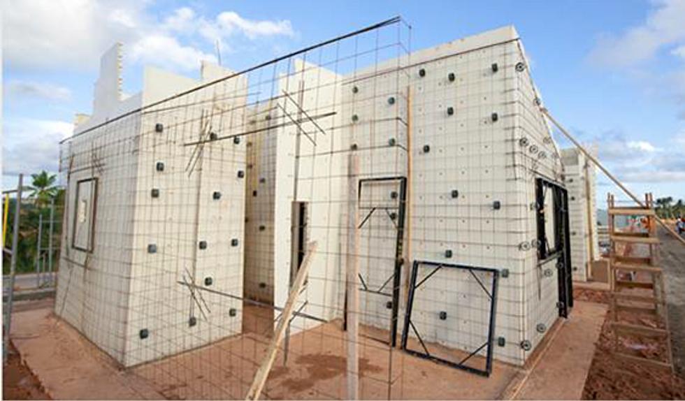 Sanibrun construction logement ecole routes temporaires - Construction beton cellulaire ...