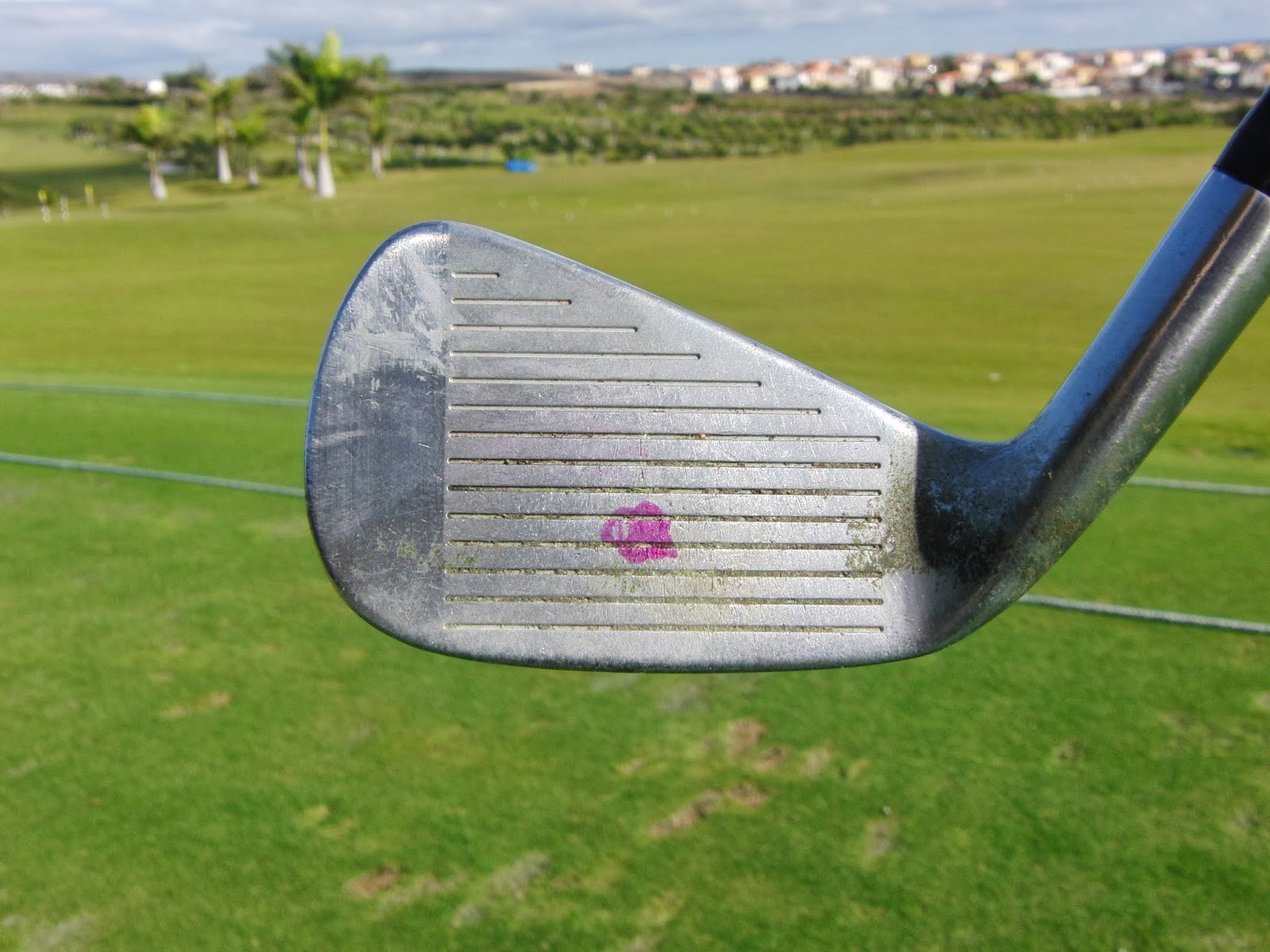 how to hit golf irons further
