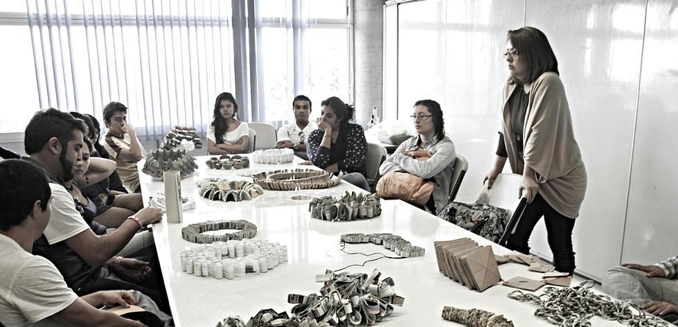 Mariana Acosta  - my class at Universidad Gestalt de Diseño.