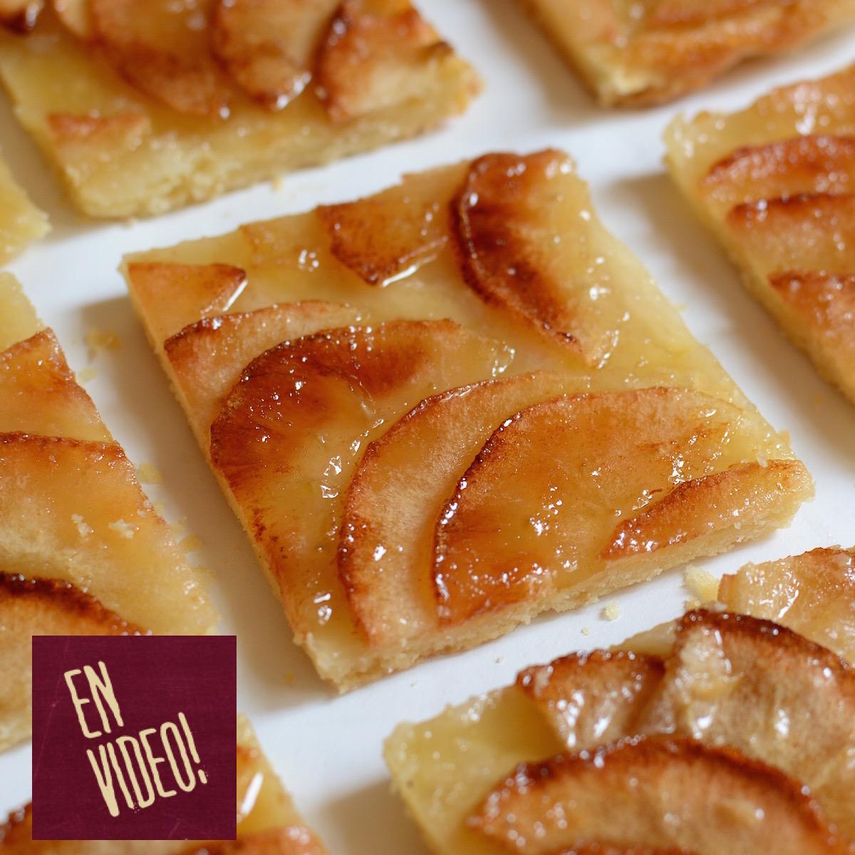 Tarta de manzana video receta f cil de preparar para for Facil de cocinar