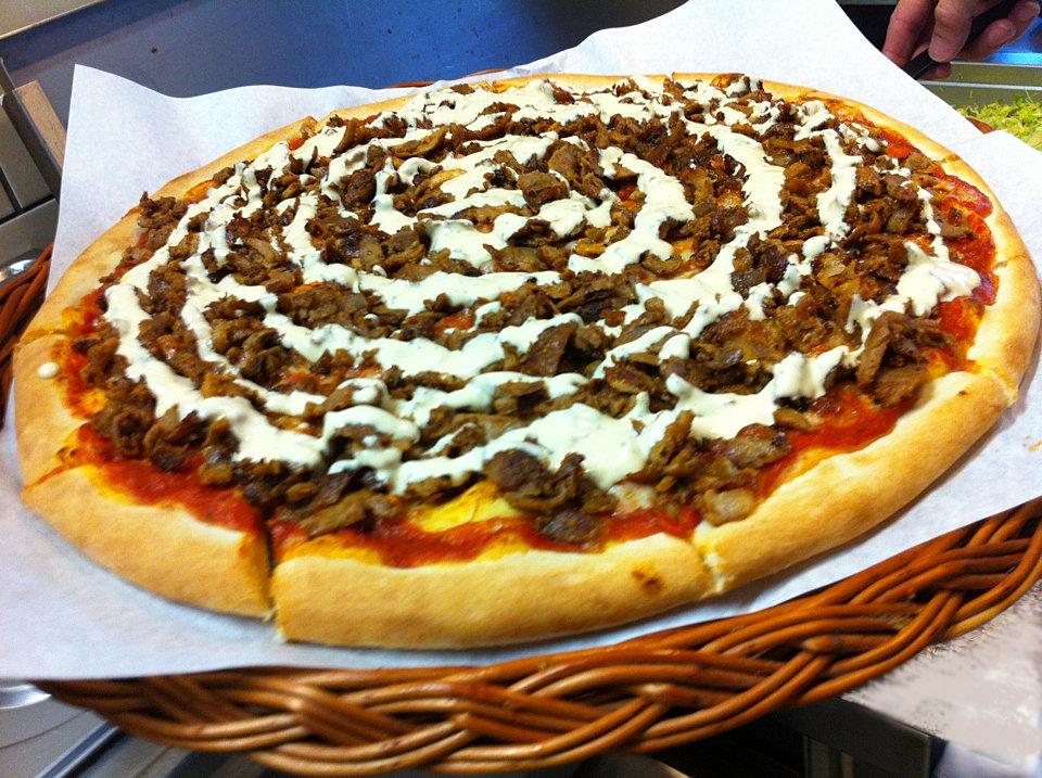 Kebab House Sarpsborg Kebab Pizza