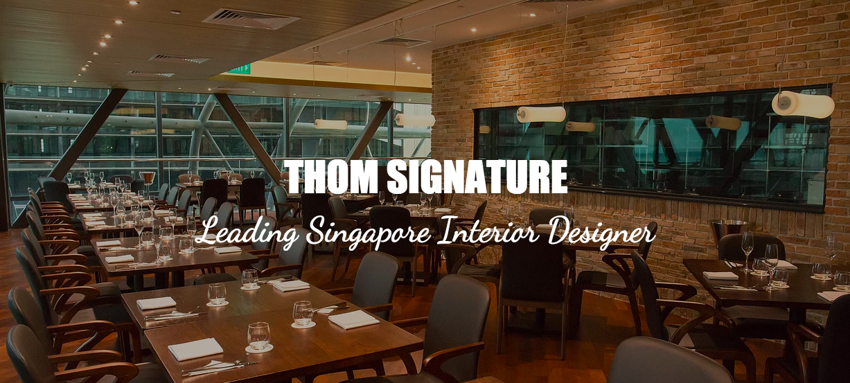 interior design singapore singapore thom signature interior design