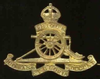 Royal Artillery Capbadge