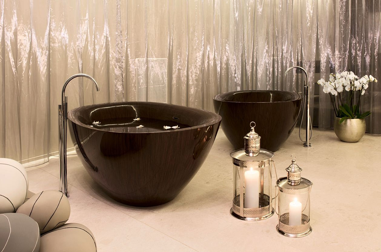 ALEGNA _exclusive luxury wooden bathtubs with fascinating design ...