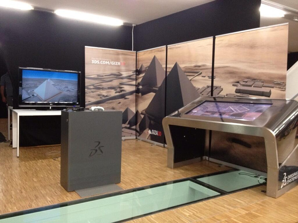 Eightball imprimeur paris stand expo impression bache for Stand enrouleur