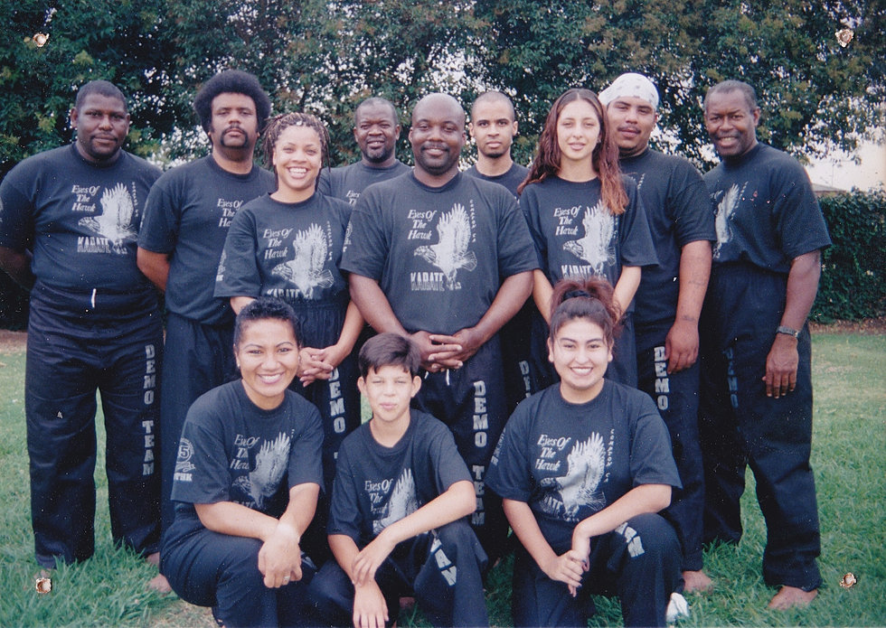 EOTH demo team 1997.