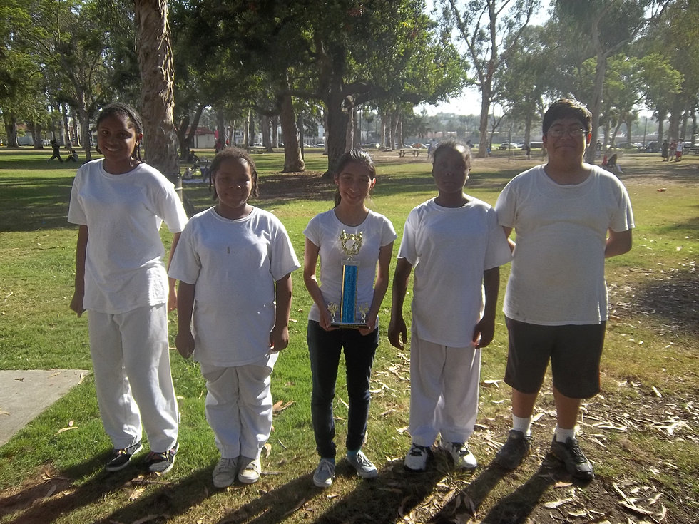 8-11-12 demo team with trophy