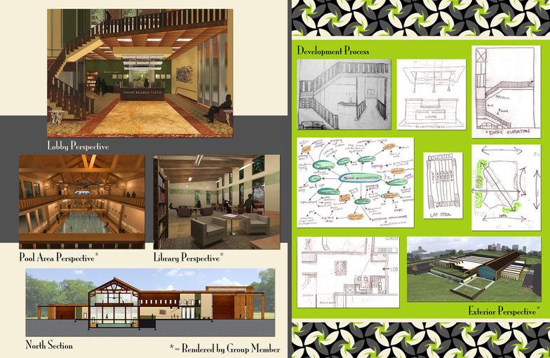 Kristen Cole Interior Design Student Portfolio Website