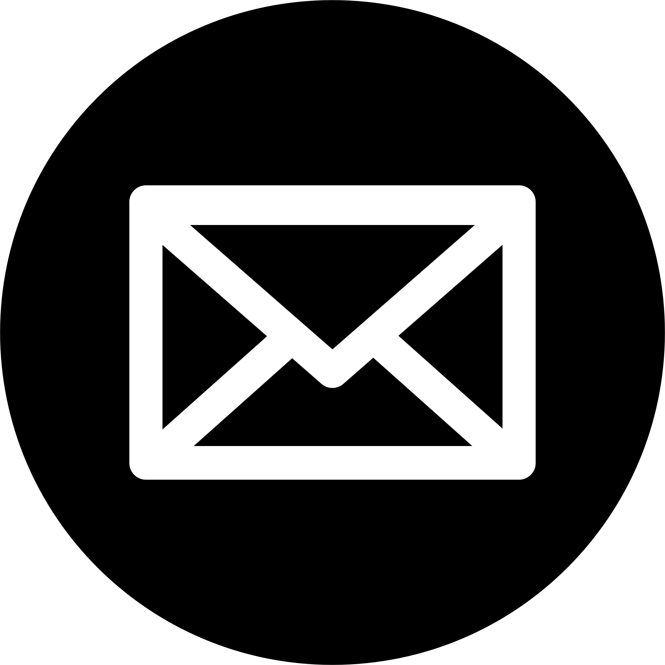 The Gallery For Gt Email Black Icon