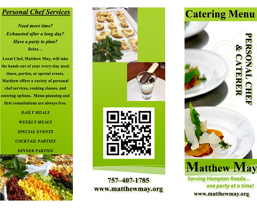 May S Kitchen Menu