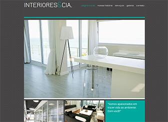 Interiores & Co Template - Um template sofisticado ideal para designers mostrarem seus trabalhos através de um portfólio. Totalmente personalizável, das cores ao layout até ao estilo das galerias de alta resolução. Comece a editar e promova seu negócio online!