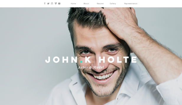portfolio  u0026 cv website templates