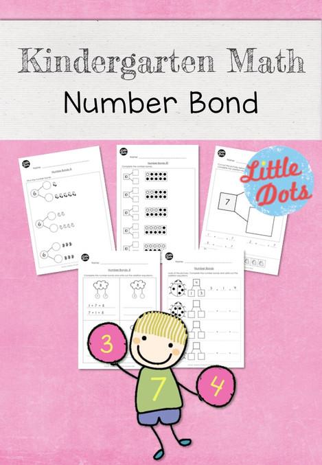 Kindergarten Math Number Bond Worksheets and Activities | Little ...