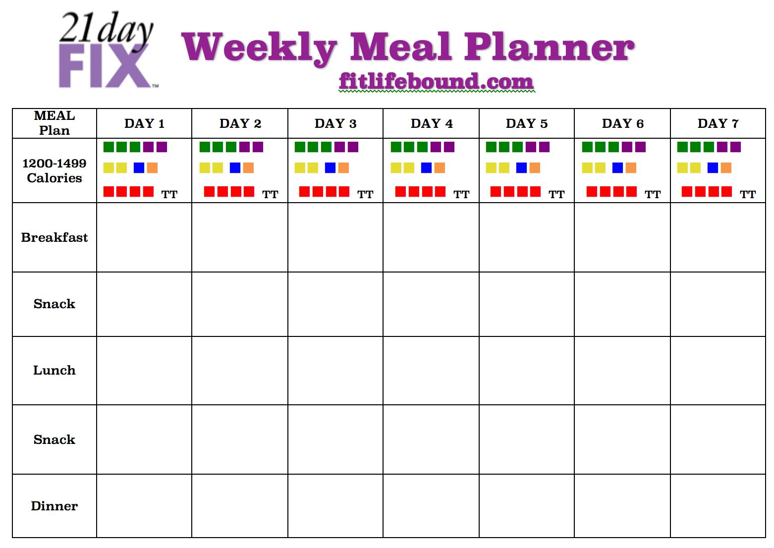 ufc fit meal plan pdf