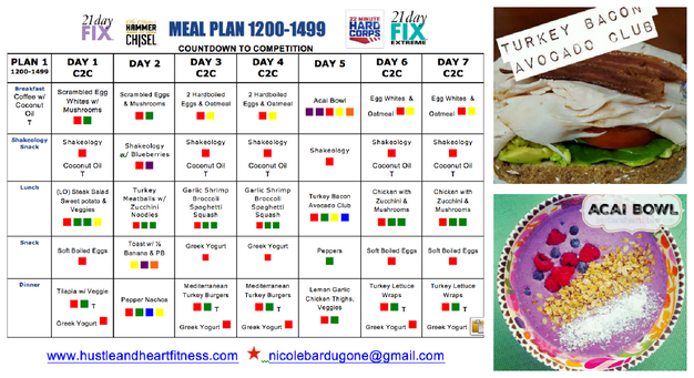 Meal plan 21 day fix extreme countdown to competition fix pinterest addict me too follow me here forumfinder Gallery
