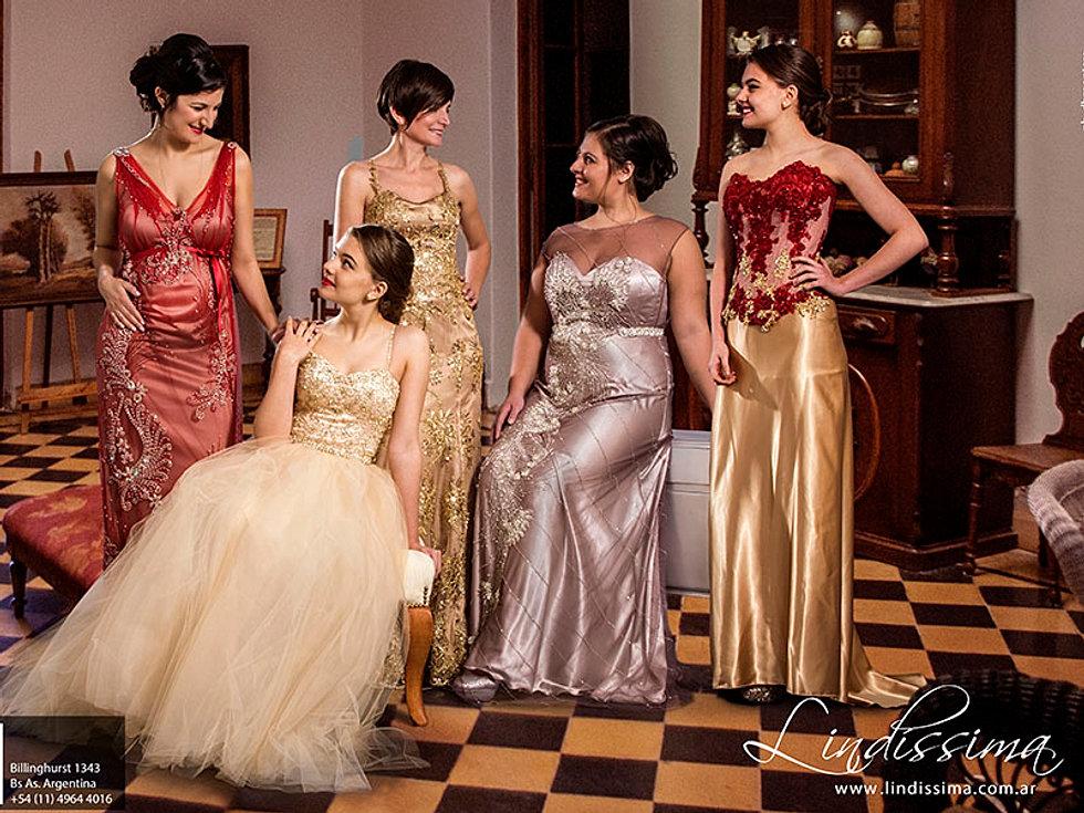 Vestidos de Fiesta , Mujeres reales