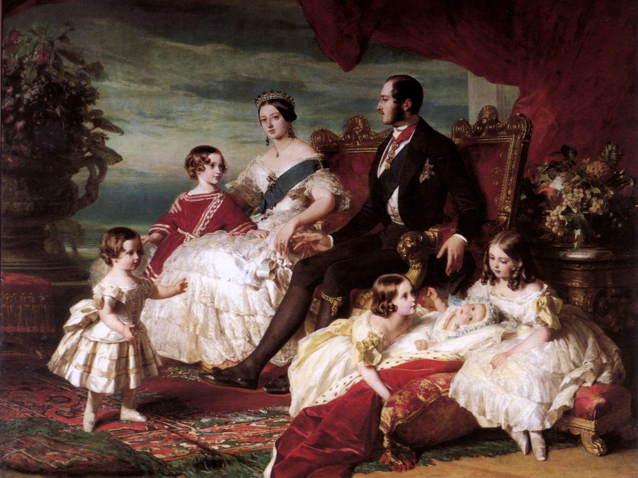Обои картина, Флоринда, Franz Xaver Winterhalter, Франц Ксавер Винтерхальтер, мифология. Разное foto 7