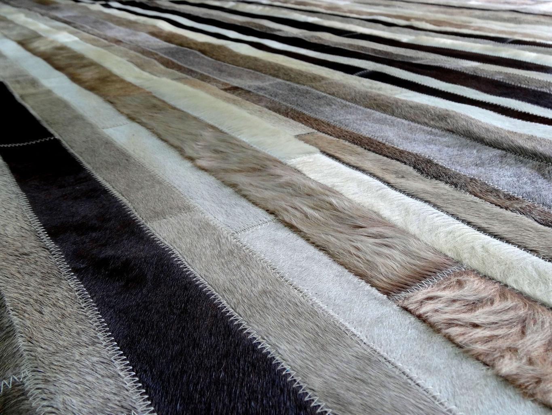 Alfombras de cuero importados tavros for Alfombras de cuero
