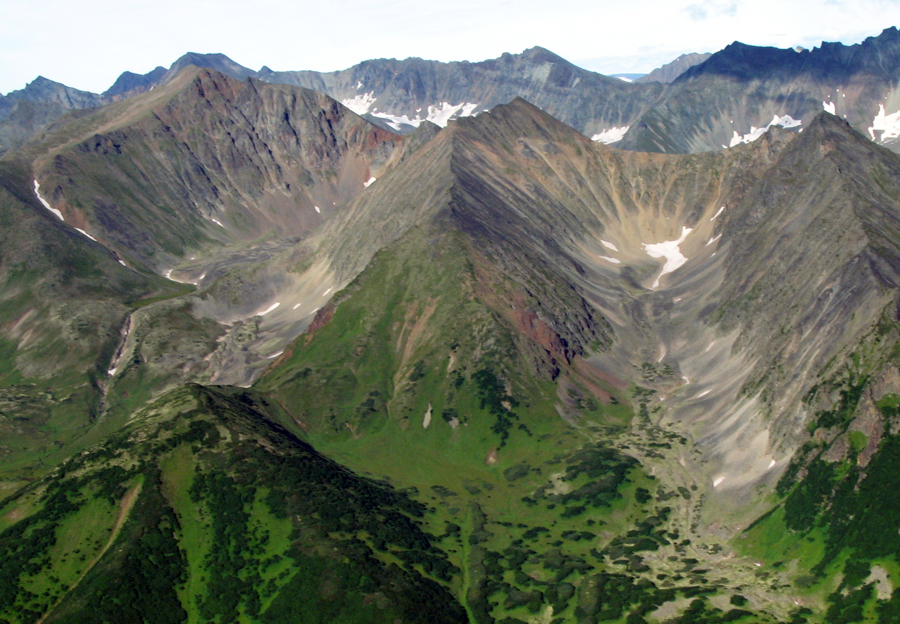 gernon | Glacial arête, Kamchatka