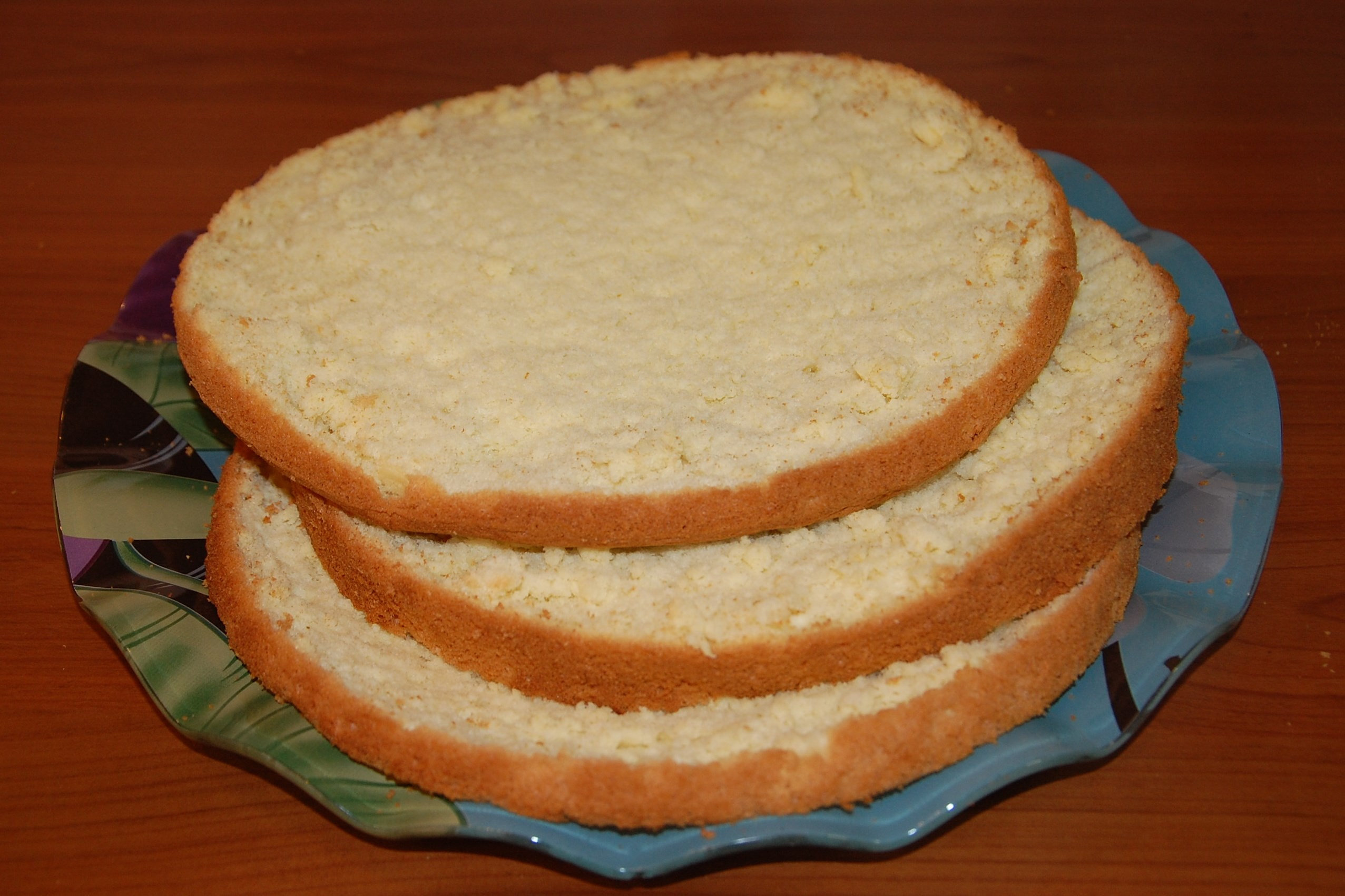 Как сделать коржи для песочного торта