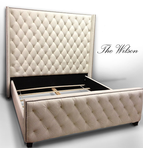 the wilson headboard and bed frame
