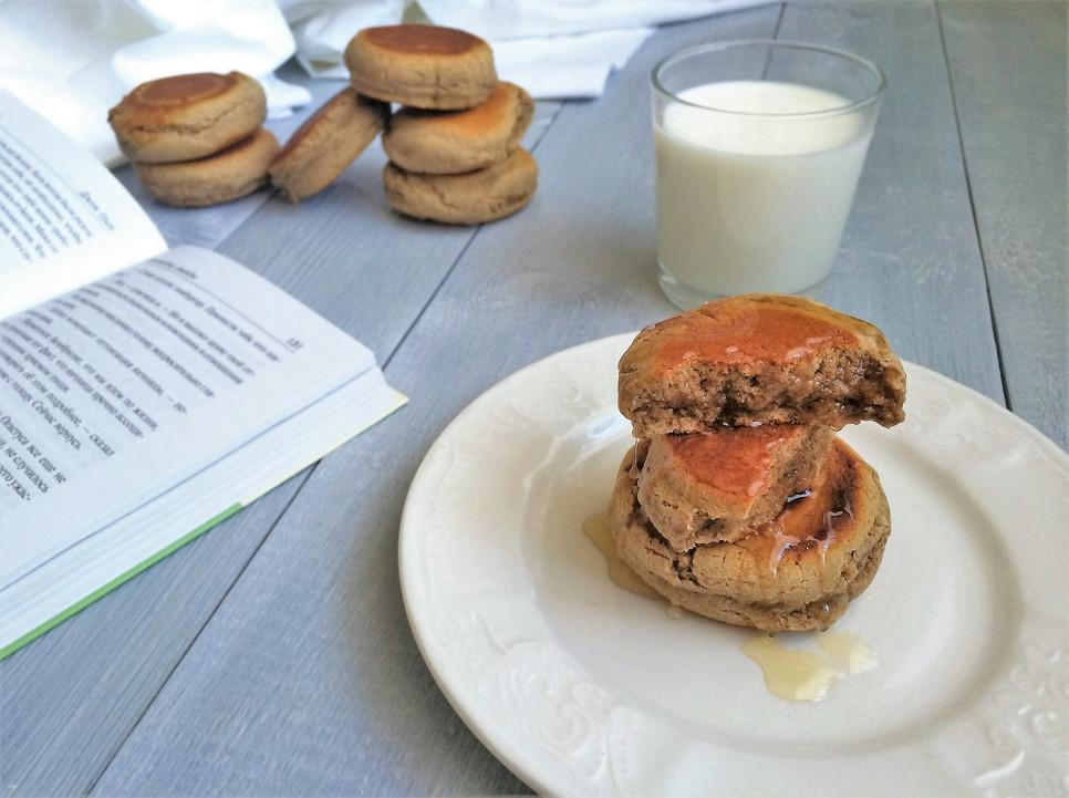 овсяное печенье на сковороде рецепт с фото