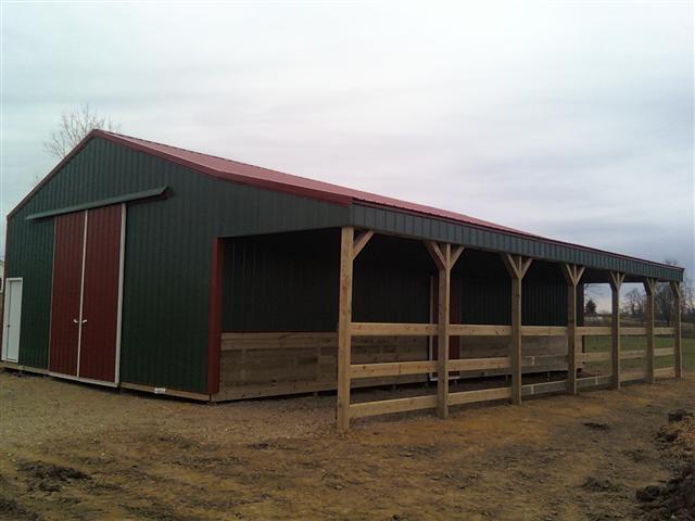 C B Builders Barn Metal Building Builders Arkansas