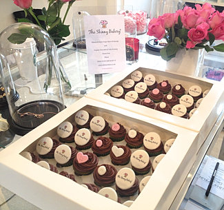 Mini Cupcakes for LFW