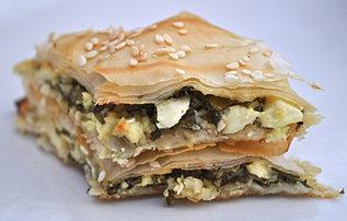 Savoury Skinny Baklava
