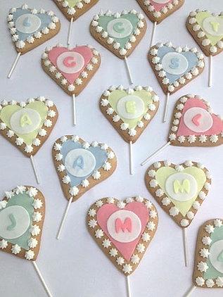 Valentine's Cookie Pop's
