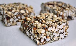 No-Bake Chia seed bars