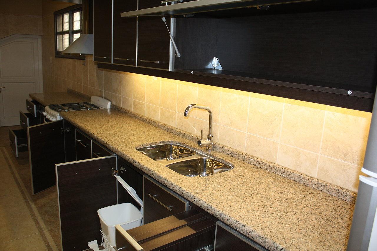 A f amoblamiento muebles cocinas placares vestidores - Cocinas color roble ...