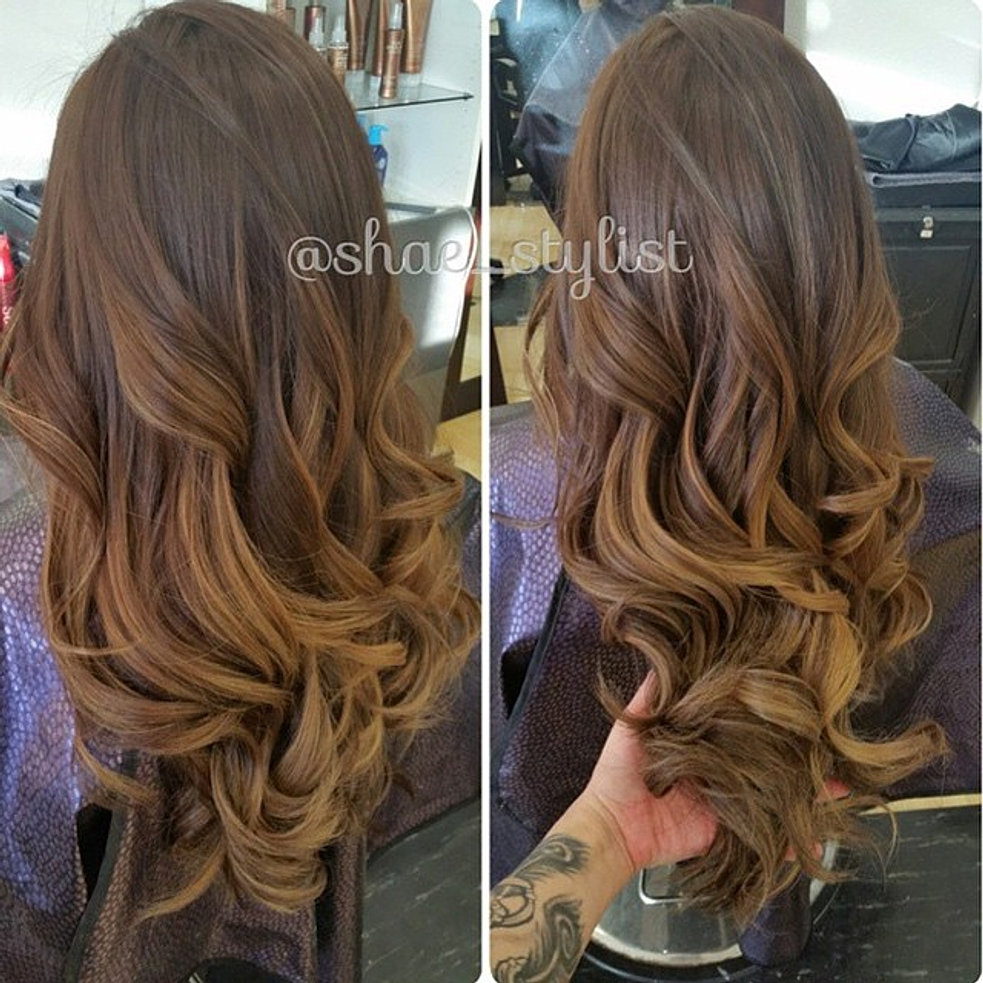 Instagram , Base color and balayage by Shalene. She has a opening this Saturday