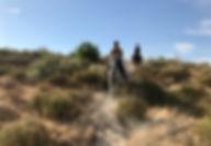 Horseback riding beach matalascanas