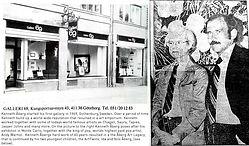 Konstgalleri i Göteborg, Galleri Nils Åberg, Historia.