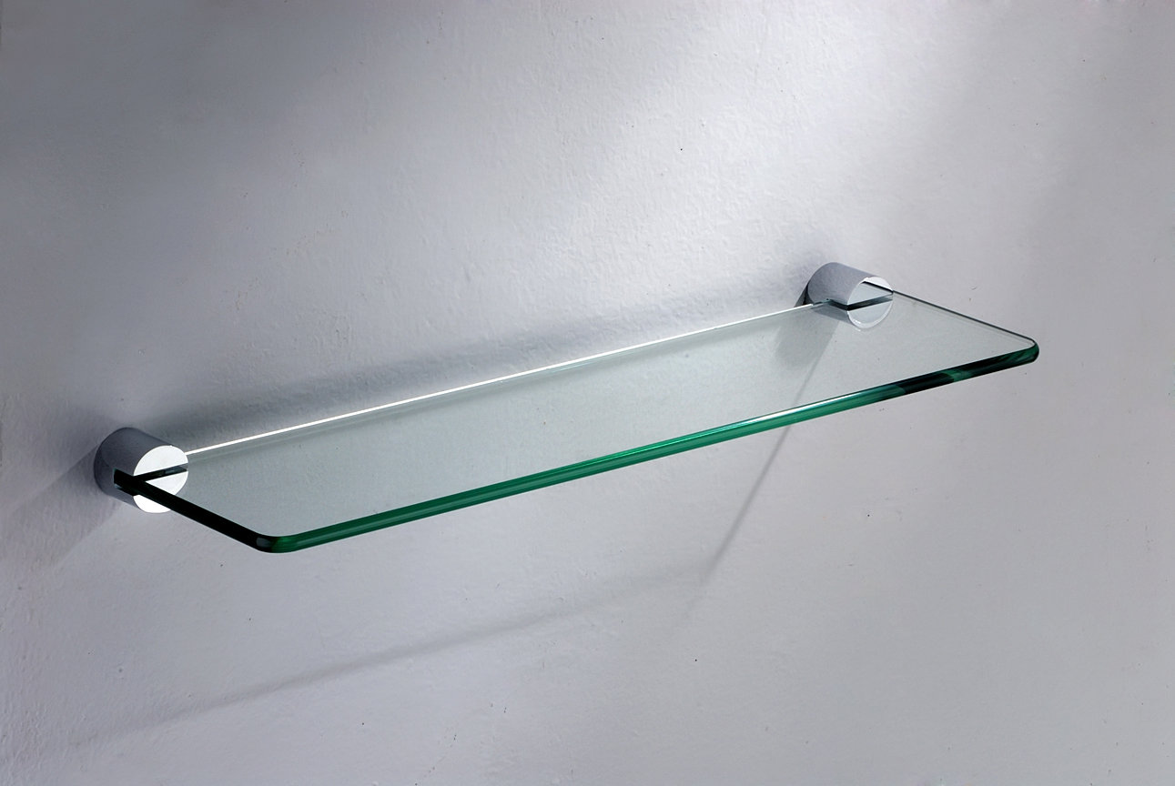 bathroom glass shelves chrome | carpetcleaningvirginia